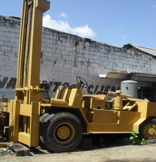 Empilhadeira, marca Hoister , de 18 ton de fechamento a diesel