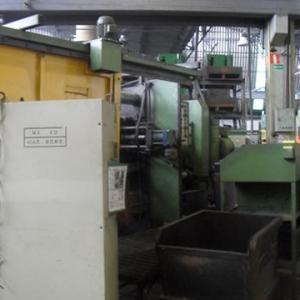 Injetora de Alumínio marca Russa de 630 ton