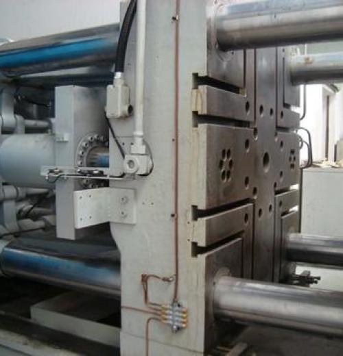 Injetora de Alumínio marca Wotan de 480 ton