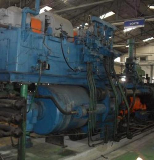 Extrusora de Alumínio, marca Lowe de 1650 ton