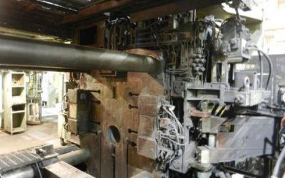 Injetora de Alumínio marca UBS de 1650 ton de fechamento