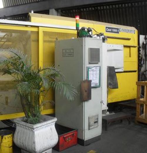 Injetora de Alumínio marca Wotan de 1000 ton