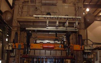 Prensa , marca Verson de 1600 ton, com mesa de 1800x4500